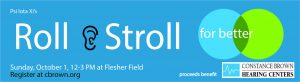 Stroll & Roll - Fundraiser to benefit Constance Brown Hearing Centers @ Flesher Field | Kalamazoo | Michigan | United States